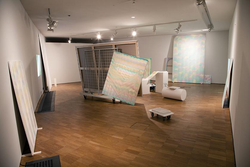 27 paintings, 4 drawings and 3 videos, Installation view, Kumu Art Museum, 2012